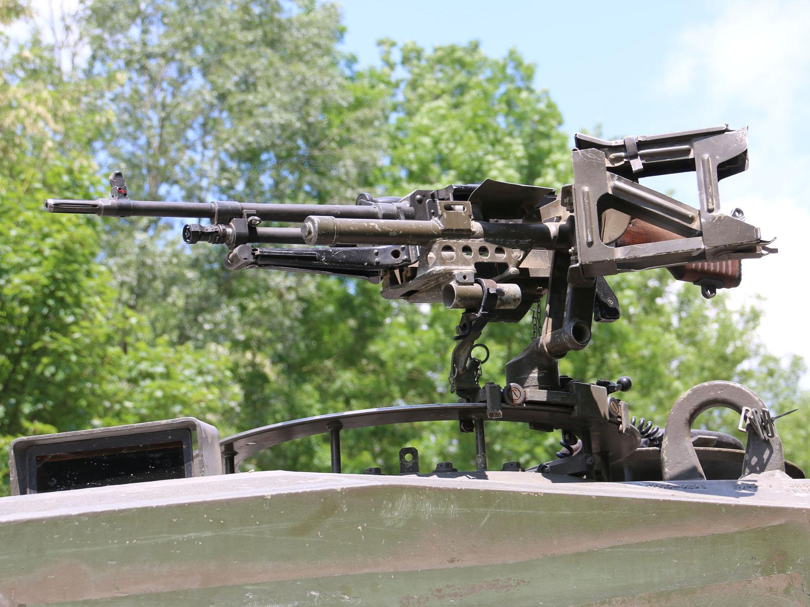 7,62 mm Turmdach-MG FN MAG © Doppeladler.com