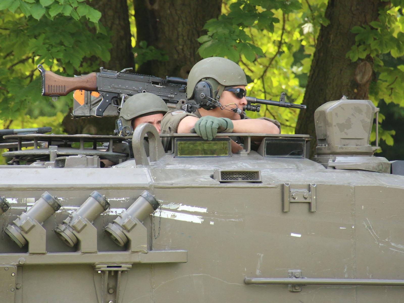 Kampfpanzer Leopard 2A4 in Bereitschaft © Doppeladler.com