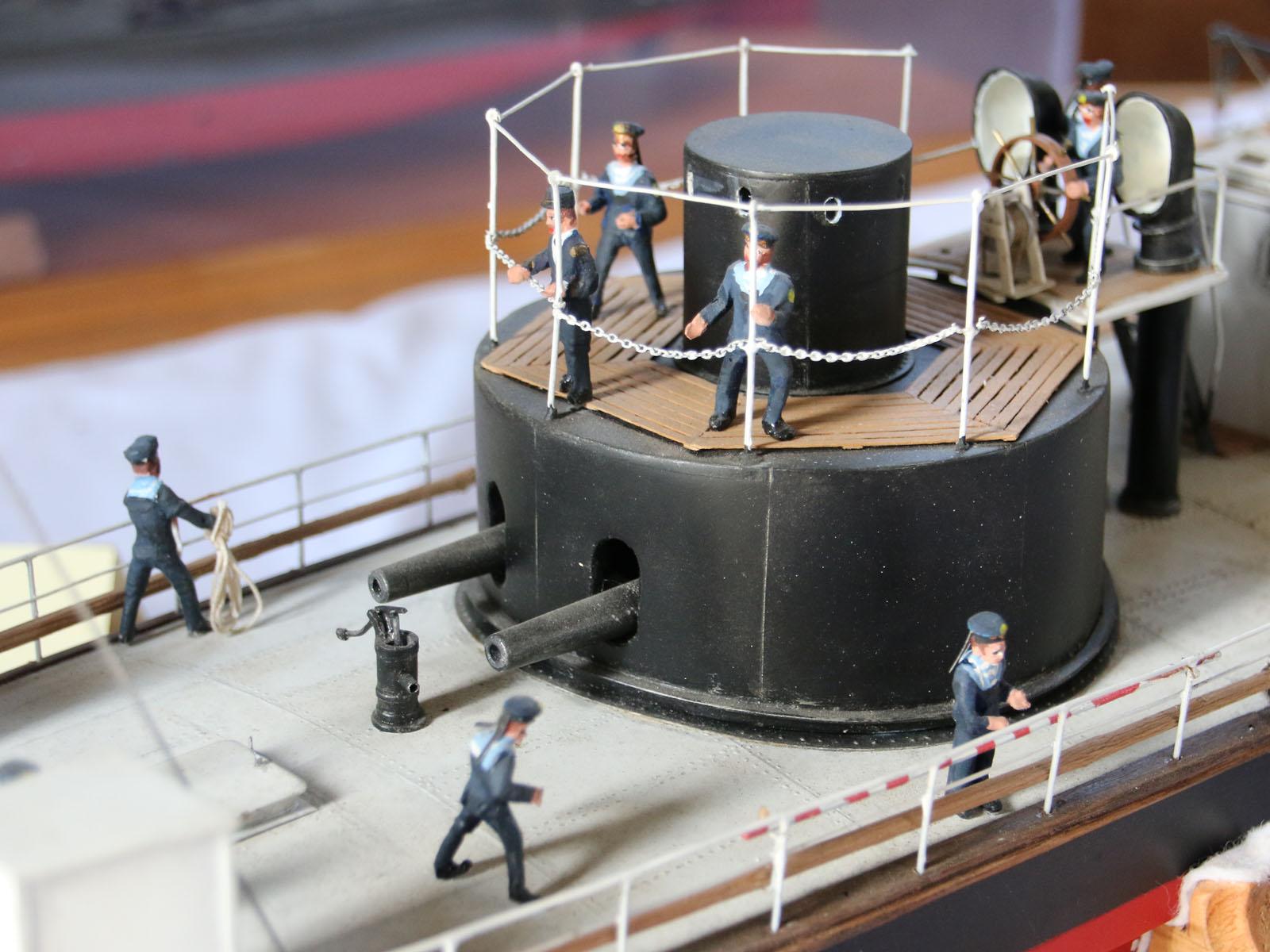 Geschützturm des Donaumonitors SMS Leitha © Doppeladler.com