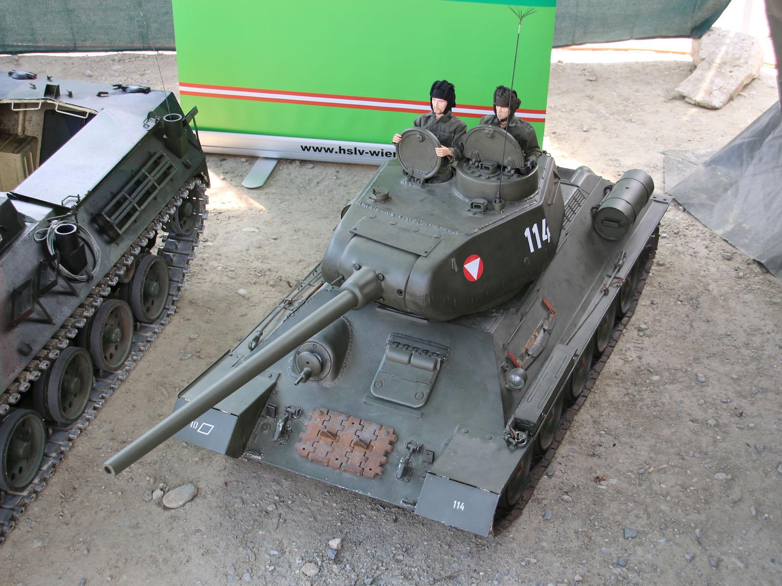 Der T-34 war beim Österreichischen Bundesheer © Doppeladler.com