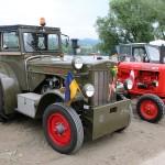 Ausstellung historischer Traktoren - hier Hanomag und Nuffield © Doppeladler.com