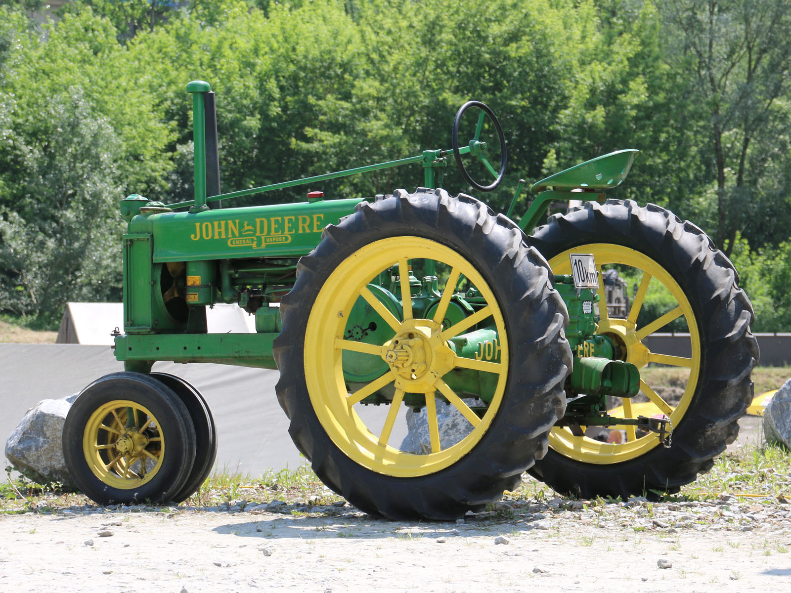 Ausstellung historischer Traktoren - John Deere © Doppeladler.com