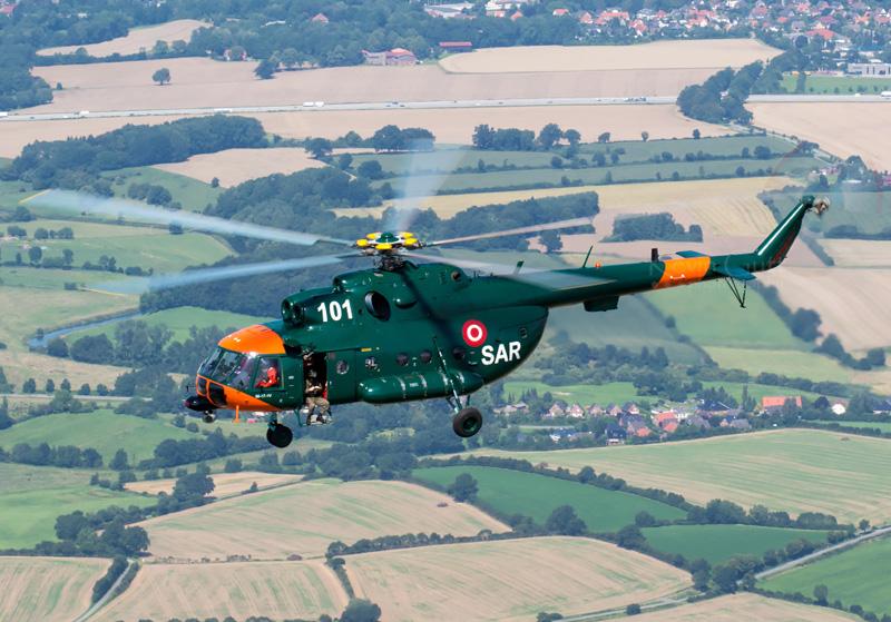 Mi-17-1V 101 der lettischen Luftwaffe © KevinG