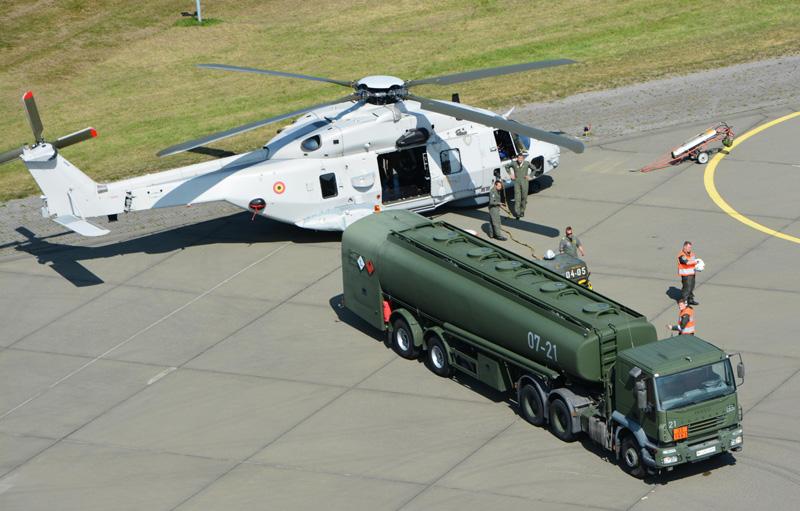 NH90 NFH aus Belgien © R. Busse MHDZ UH-1D