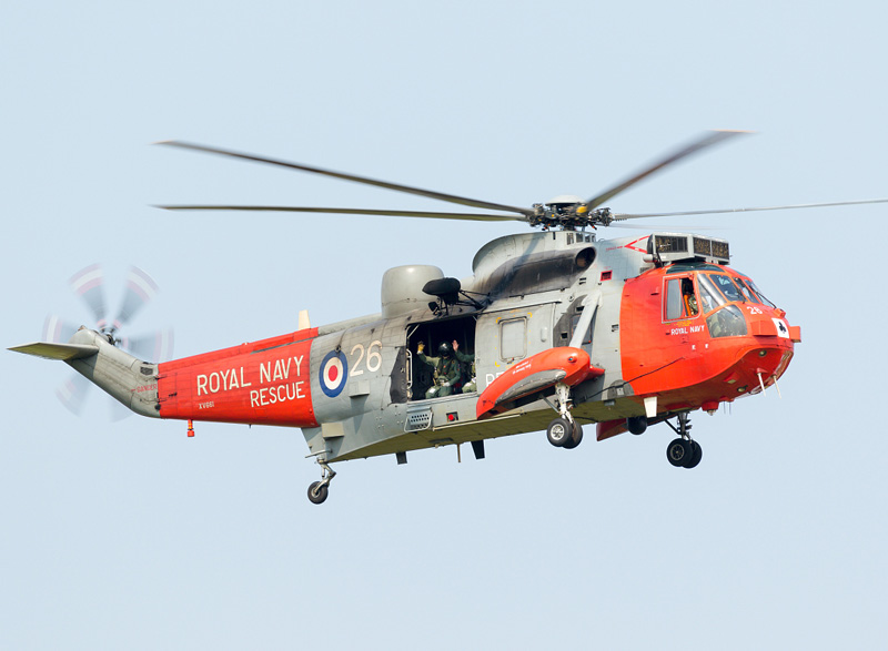 Westland Sea King HU.5SAR 'XV661'. 2015 feiert man 40 Jahre SAR Dienst mit dem Sea King © Fighter 117