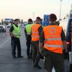 Grenzkontrollen durch das Jägerbataillon 25 in Nickelsdorf © Bundesheer
