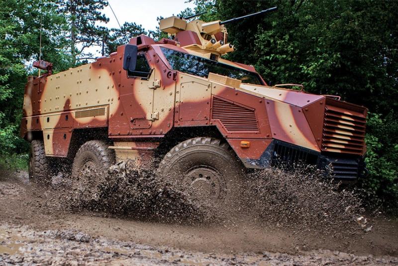 Tactical Infantry Transport & Utility System - TITUS 6x6 © Nexter/Tatra