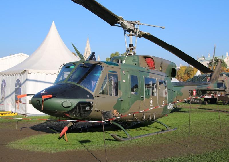 Die modernisierte Agusta Bell AB-212 MLU (Mid Life Update) © Doppeladler.com