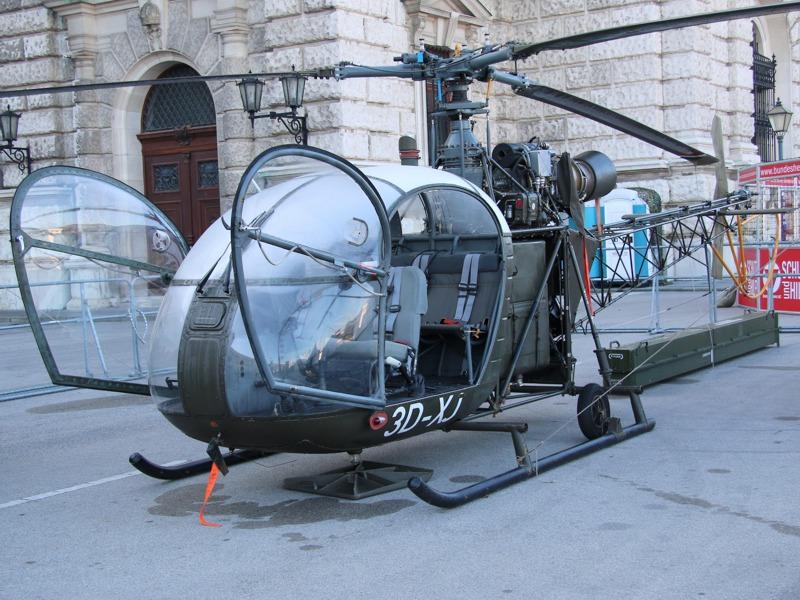 Sud Aviation SE-3130 Alouette II '3D-XJ' - bis 1975 im Einsatz © Doppeladler.com