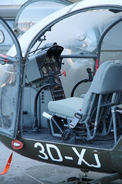 Sud Aviation SE-3130 Alouette II '3D-XJ' © Doppeladler.com