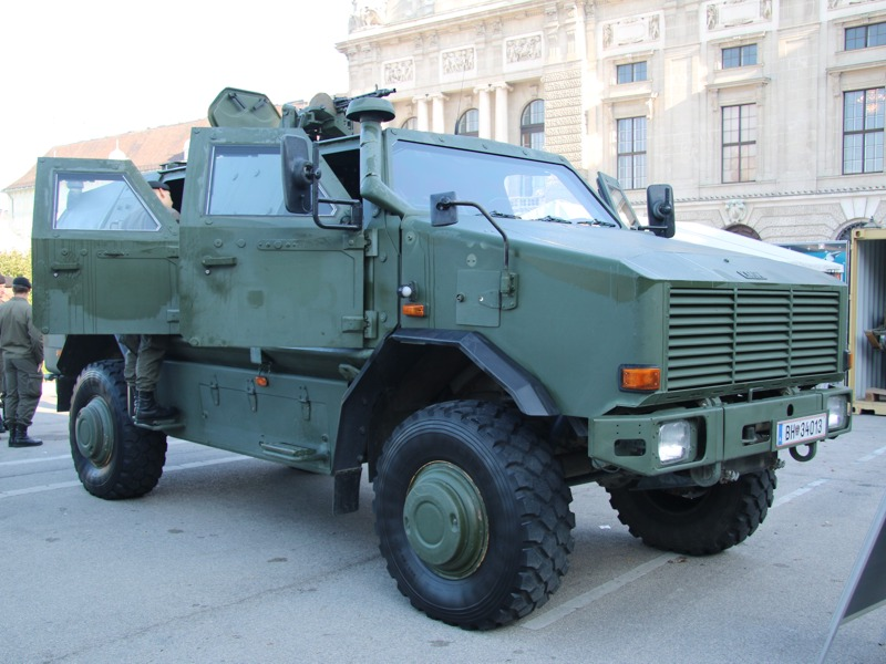 Allschutzfahrzeug Dingo 2 © Doppeladler.com