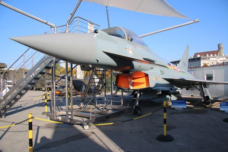 Modell des Eurofighter Typhoon © Doppeladler.com