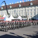 Die Garde marschiert ein © Doppeladler.com
