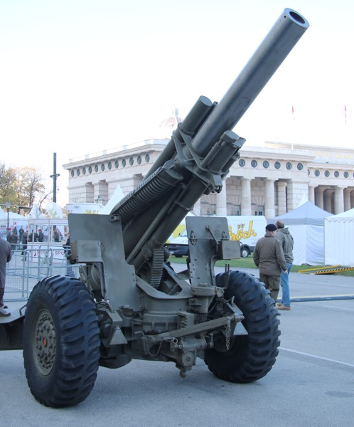 155 mm schwere Feldhaubitze MA1 (M 114) - derzeit gibt es keine gezogene Artillerie beim ÖBH © Doppeladler.com