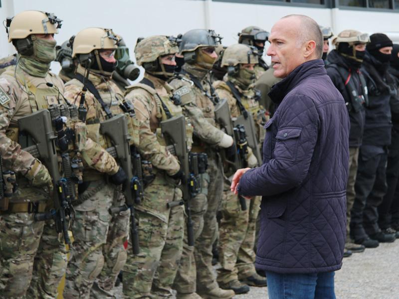 Verteidigungsminister Klug und das Jagdkommando © Doppeladler.com