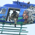 Präzisionsschütze an Bord des Kiowa 3C-OK © Doppeladler.com