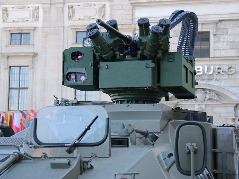 Waffenstation ERCWS-M mit 12,7 mm üsMG © Doppeladler.com