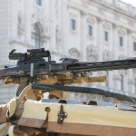 7,62 mm MG74 am Dach der Sandviper Typ I © Doppeladler.com