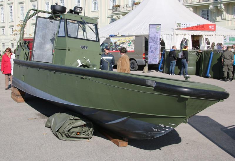 In Erprobung: die neuen Sturm- und Flachwasserboote des Bundesheeres © Doppeladler.com
