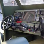 Steuerstand des Sturm- und Flachwasserbootes © Doppeladler.com