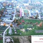 Die Main Operating Base (MOB) in der Raabkaserne ist eine Zeltstadt.