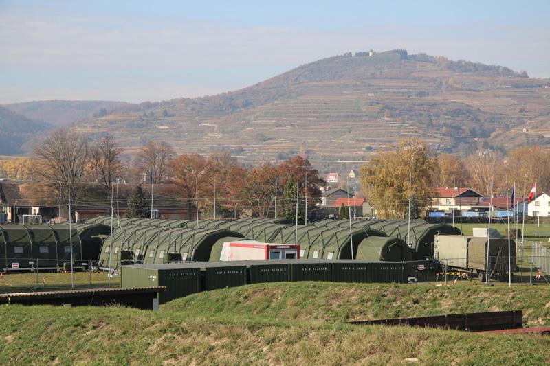 In der Raab Kaserne wurde eine Main Operating Base (MOB) für eine Battlegroup errichtet © Doppeladler.com