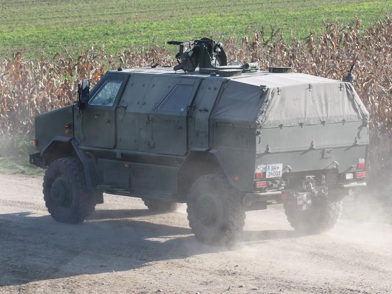 Allschutzfahrzeug Dingo 2 als Patrouillen- und Sicherungsfahrzeug © Doppeladler.com
