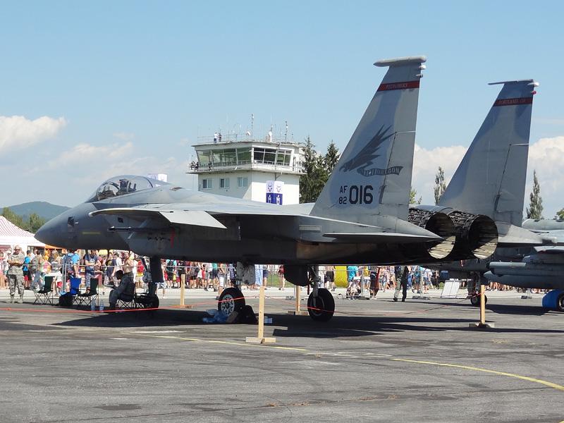 McDonnell Douglas F-15C Eagle 82-016 der Oregon Air National Guard © Doppeladler.com