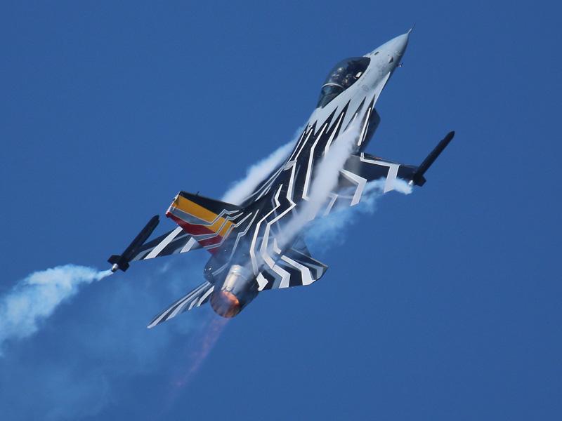 Lockheed Martin F-16 AM FA123 des Belgian Demo Teams © Doppeladler.com