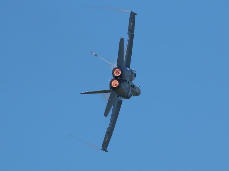 Schweizer McDonnell Douglas F/A-18C Hornet J-5007 © Doppeladler.com