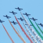 Frecce Tricolori mit ihren Aermacchi MB-339-A/PAN © Doppeladler.com