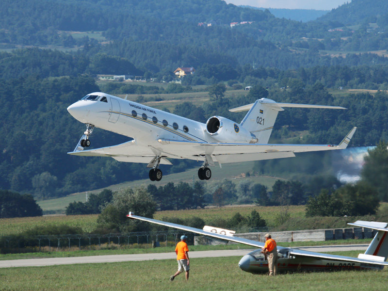 Gulfstream Aerospace Gulfstream IV 021 der Swedish Air Force © Doppeladler.com
