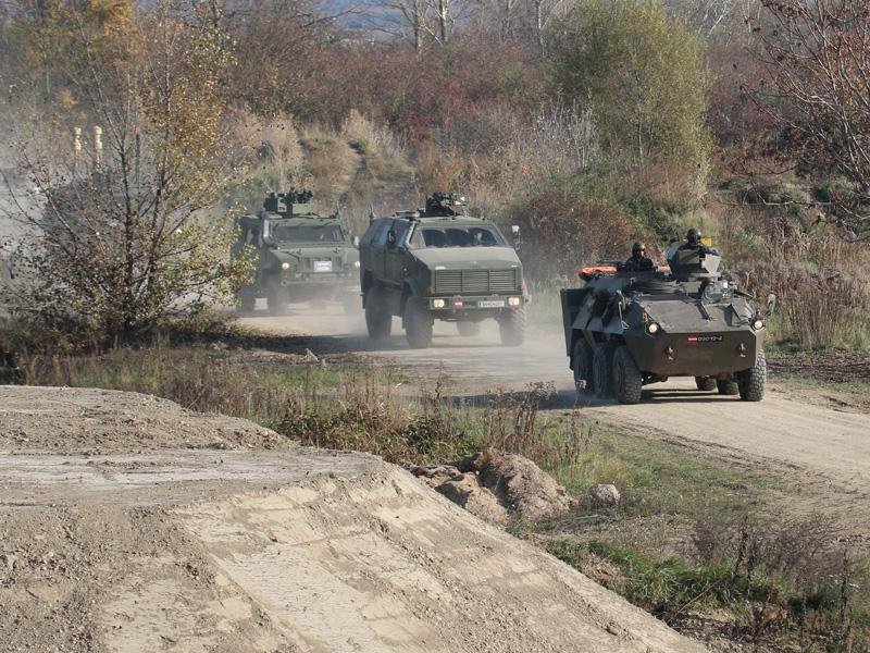 Der Konvoi ist auf dem Weg © Doppeladler.com
