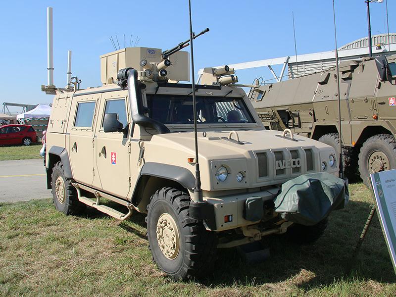 IVECO LMV der slowakischen Streitkräfte © Doppeladler.com