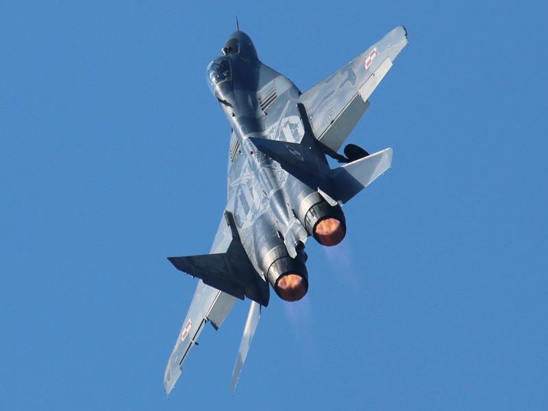 Mikoyan-Gurevich MiG-29 A Fulcrum 67 aus Polen © Doppeladler.com