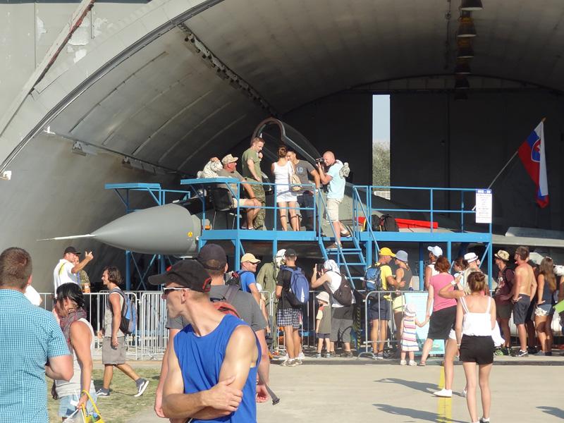 Publikumsmagnet: slowakische Mikoyan-Gurevich MiG-29 AS Fulcrum