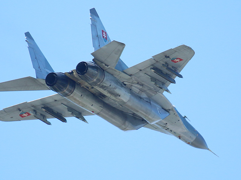 Mikoyan-Gurevich MiG-29 AS Fulcrum 6728 © Doppeladler.com