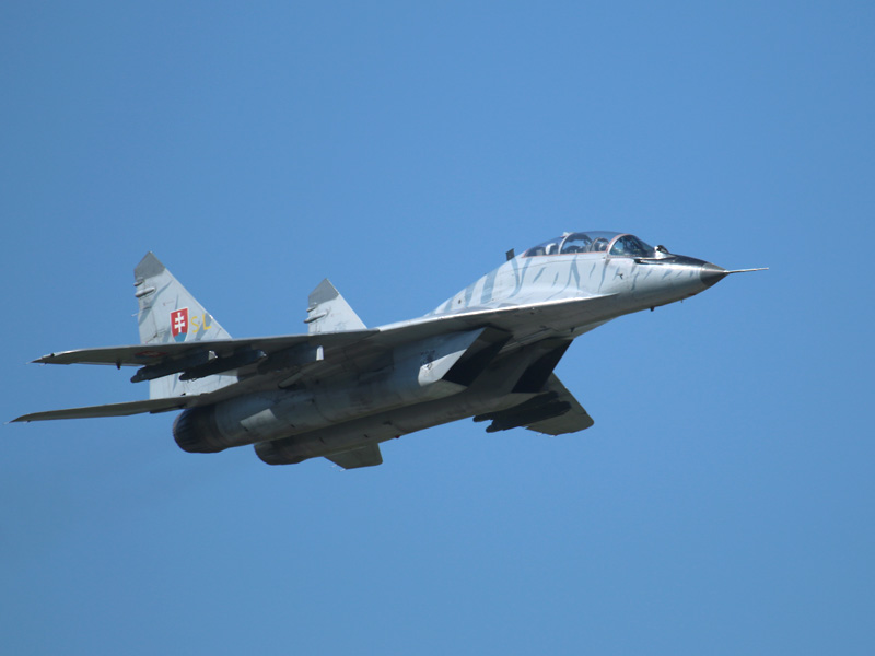 Mikoyan-Gurevich MiG-29 UBS Fulcrum Doppelsitzer 1303 © Doppeladler.com