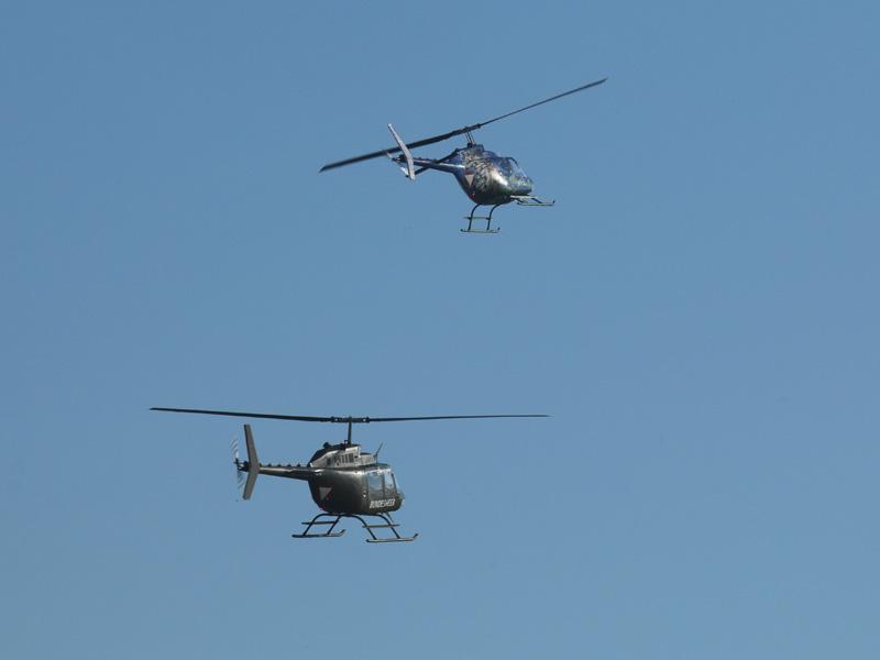 Kiowa-Rotte beim Angriff © Doppeladler.com
