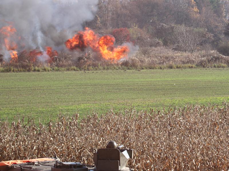 Simulierter Raketenangriff © Doppeladler.com
