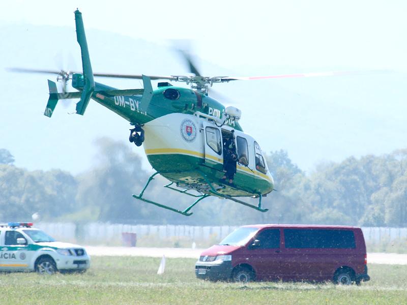 Bell 429 OM-BYM der slowakischen Polizei © Doppeladler.com