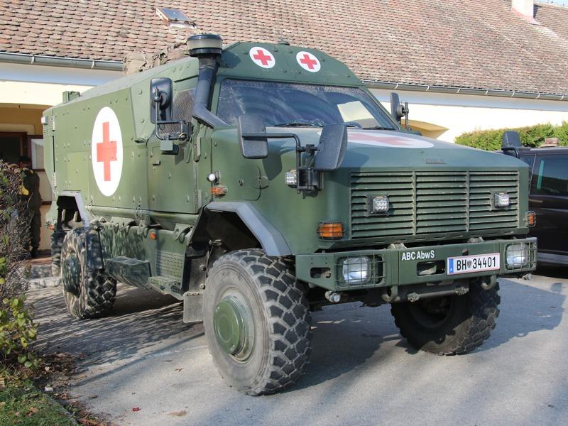 Notfallfahrzeug Dingo 2 © Doppeladler.com