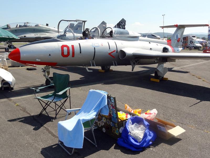 Aero L-29 Delfín OM-SLK © Doppeladler.com