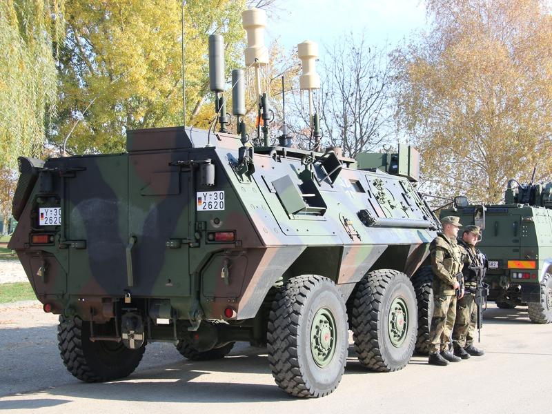 Transportpanzer TPz 1 Fuchs CG20+ © Doppeladler.com