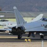 Eurofighter Typhoon 7L-WC und 7L-WD am Fliegerhorst Hinterstoisser © Werner P