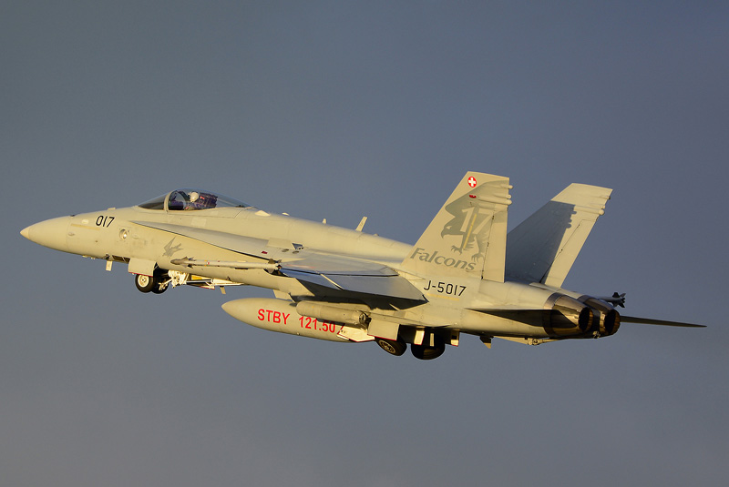 Schweizer McDonnell Douglas F/A-18C Hornet © M. Bartwicki