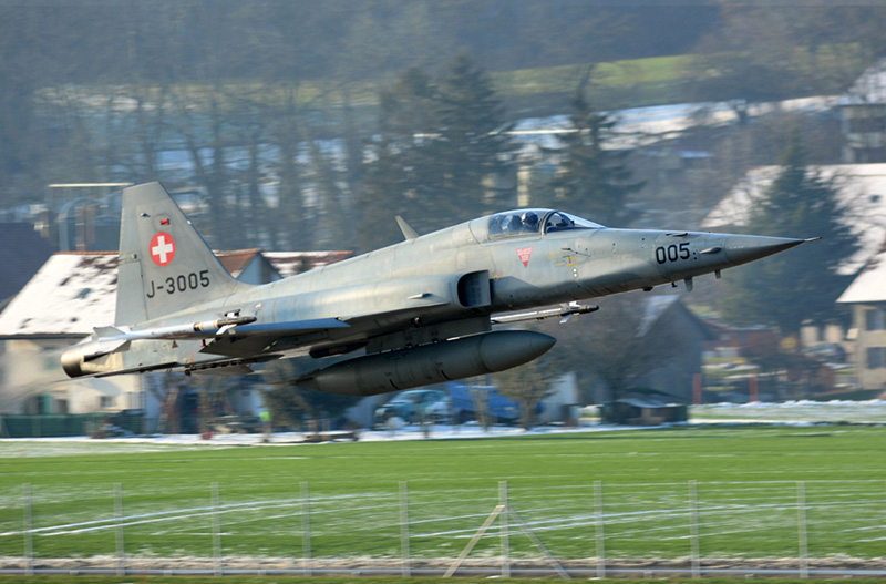Northrop F-5E Tiger II J-3005 © Grimmi