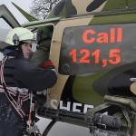 "Das ""Emergency Response Team Air"" (ERTA) am ""Unfallort"" © Bundesheer"