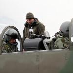 Letzte Vorbereitungen vor dem Start - Pilatus PC-7 © Bundesheer