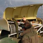 Kleinere Wartungsereignisse mussten auch in Innsbruck durchgeführt werden können - Pilatus PC-7 © Bundesheer